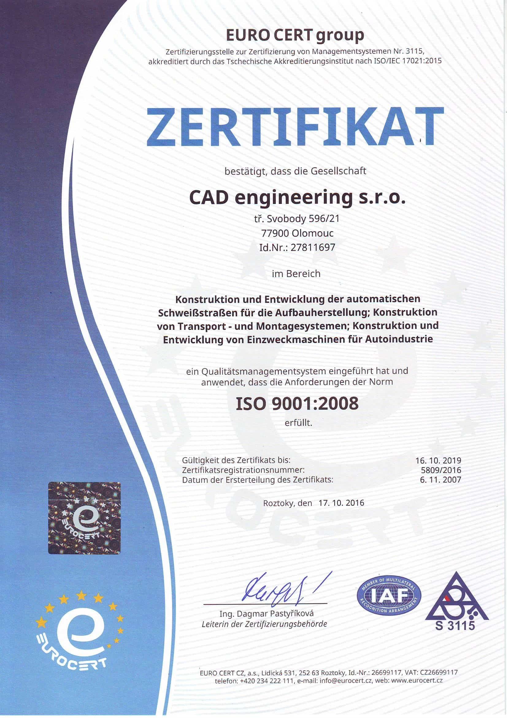 Referenzen | CAD engineering